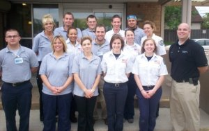 My EMT-B Class at the Cleveland Clinic!